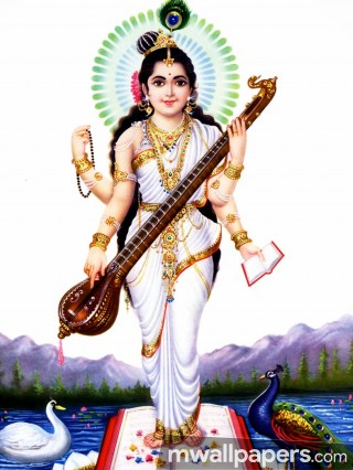 God Saraswati Best HD Photos (1080p)