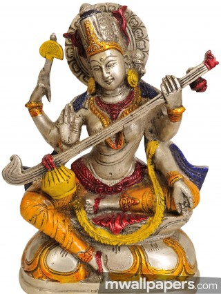God Saraswati Best HD Photos (1080p) - god saraswati,saraswati pooja,god,hindu