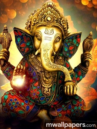 Lord Ganesha Beautiful HD Photos (1080p) (14161) - Lord Ganesha