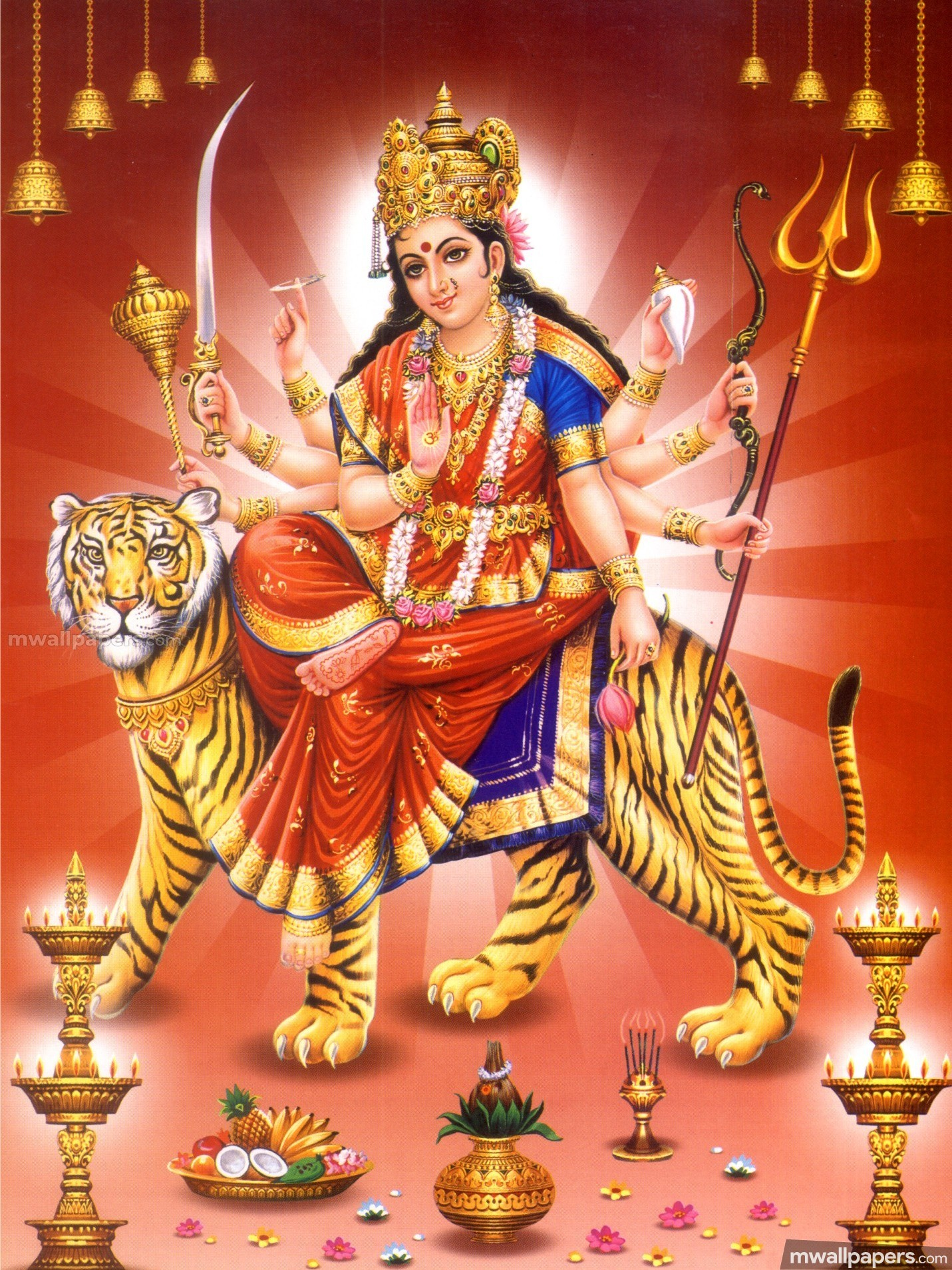 Maa Durga Devi Latest HD Photos (1080p) (12947) - Maa Durga Devi