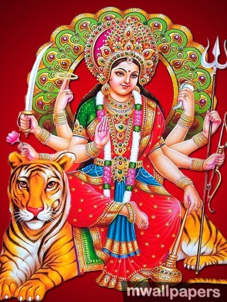 Maa Durga Devi HD Photos & Wallpapers (1080p) - maa durga,durga devi,adi parashakti,parvati,ambal