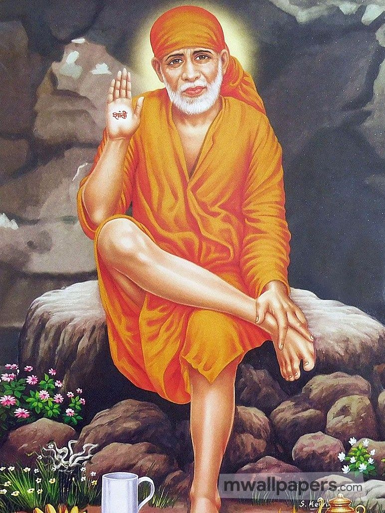 Shirdi Sai Baba HD Image Wallpaper (64) - Shirdi Sai Baba