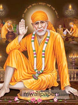 Shirdi Sai Baba HD Image Wallpaper (63) - Shirdi Sai Baba