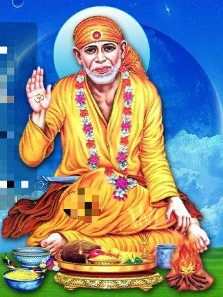Shirdi Sai Baba HD Image Wallpaper - sai baba,shirdi