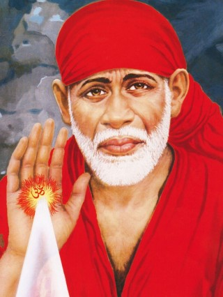 Shirdi Sai Baba HD Image Wallpaper