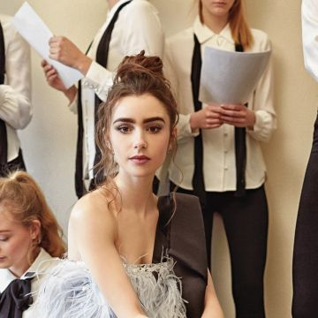 Lily Collins Paper Magazine Photoshoot 2019 - Android / iPhone HD Wallpaper Background Download HD Wallpapers (Desktop Background / Android / iPhone) (1080p, 4k)